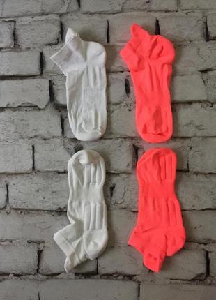 Яркие спортивные высокотехнологичные носки комплект 2 пары