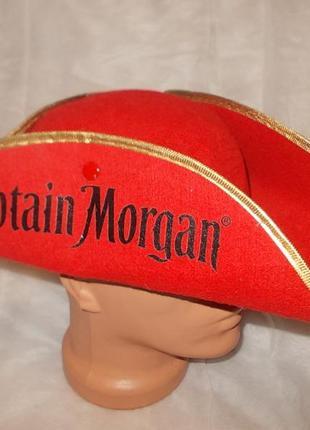 Шляпа-треуголка капитан морган captain morgan