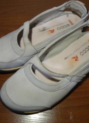 Спортивные туфельки/мокасины ecco 38 размер