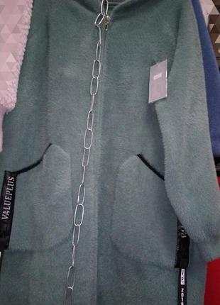 Кардиган-пальто,италия,размер 50-56 универсальный