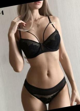 Новый сексуальный набор белья, бюст и трусики