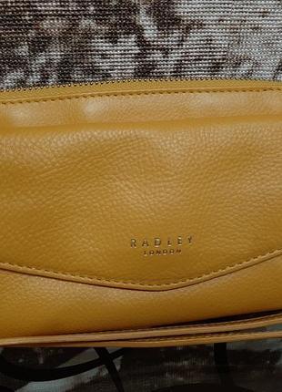 Мега крутая сумочка клатч через плечо radley london