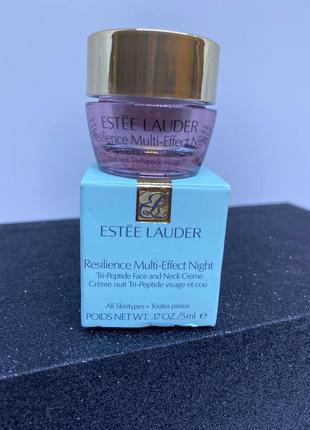 Ночной лифтинговый крем для упругости кожи estée lauder 5 мл
