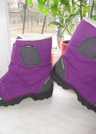 Зимние термо ботинки quechua 36 р