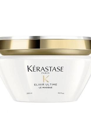 Маска для волос kerastase elixir ultime 200 мл