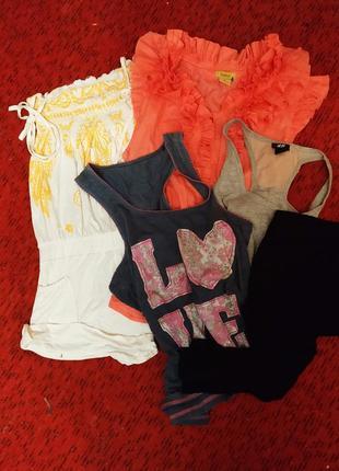 Пакет летней одежды, микс,набор, размер s
