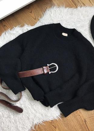 Розкішний об'ємний светрик з альпаки і шерсті!)