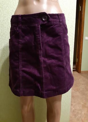 Вильветовая юбкаh&m