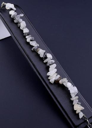 Браслет волосатик священный камень востока 18 см. 0386240