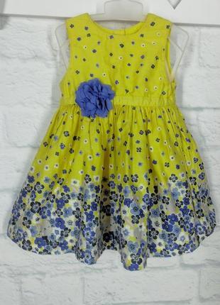 Детское платье на 1-1,5 лет