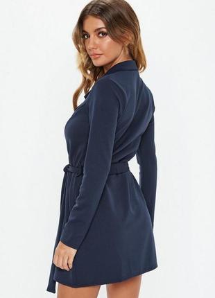 Блейзер пиджак удлиненный жакет кардиган синий navy качество
