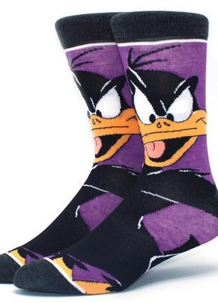 Оригінальні високі носки з мультяшним героєм даффі дак