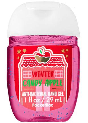 Санитайзер bath and body works winter candy apple