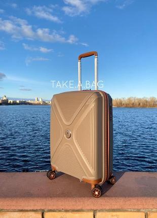 Легкий французский чемодан