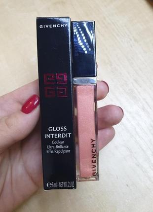 Блиск для губ givenchy gloss interdit