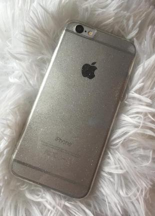 Чехол силиконовый на iphone 6, 6s