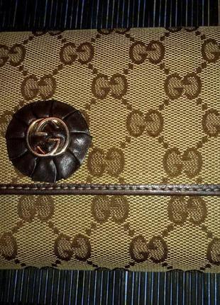 Узнаваемый,стильный кошелек,портмоне gucci,оригинал