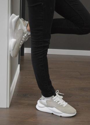 Женские кроссовки adidas y-3 kaiwa