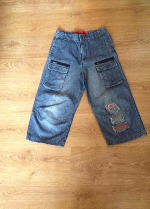 Стильні джинсові бріджі шорти на підростка / marks&spencer/13 років