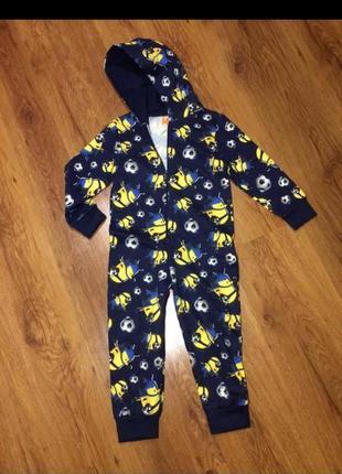 Кигуруми,пижама миньон 2-3 года