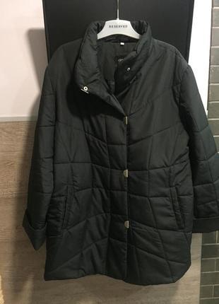 Куртка стёганая демисезонная большой размер ❤️❤️118
