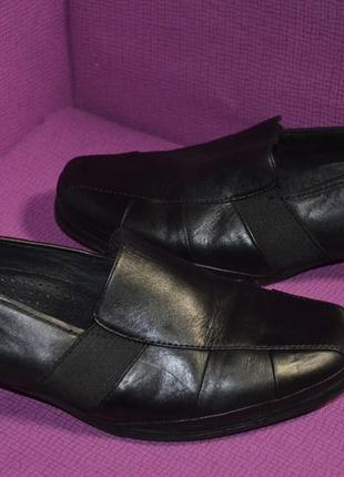Кожаные туфли на каблуке medicus