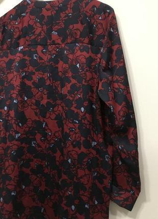 Удлинённая блуза marks&spenser p. 16/44. #228. 1+1=3🎁5 фото