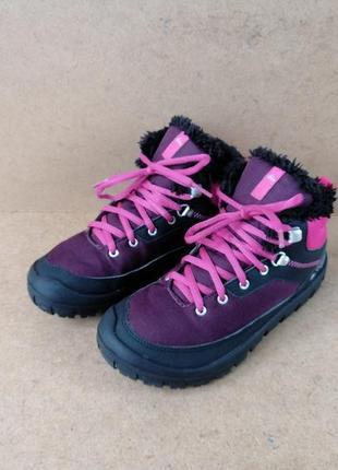 Ботинки quechua демисезонные термо для девочки