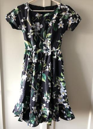 Летнее хлопковое платье dolce gabbana