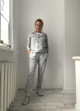 Спортивный костюм оригинал puma, штаны и кофта для спорта