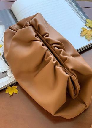 Женский кожаный клатч