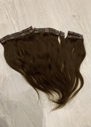 Волосы натуральные, трессы, волосы на заколках