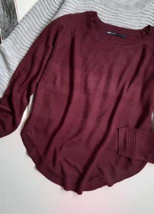 Марсала, базовый пуловер
