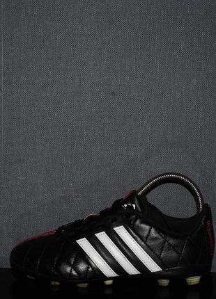 Бутсы adidas 11questra 33 р