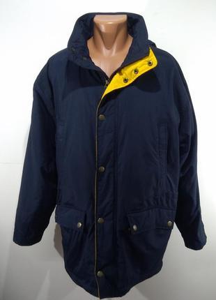 Спортивная мужская куртка на флисе осень - зима размер 46-48