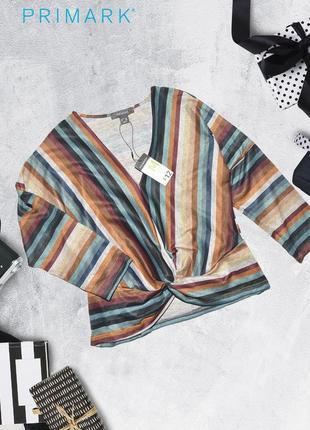 Новая полосатая кофта primark