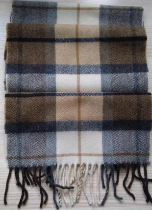 Шерстяной шарф michaelis scarves. италия