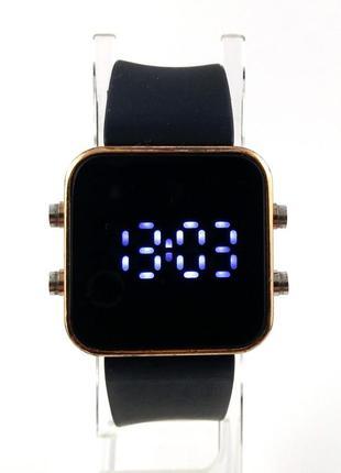 A classic time watch company led часы из сша силиконовый ремешок
