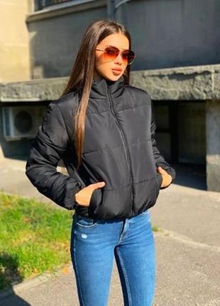 Демі куртка зефірка