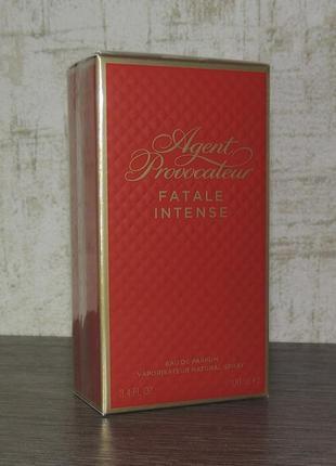 Agent provocateur fatale intense 100 мл парфюмированная вода для женщин оригинал