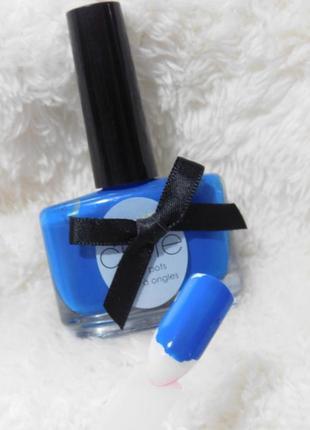 Лак для ногтей красивого синего цвета в оригинальном флаконе.. 13,5 мл * полный * америка