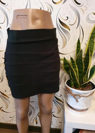Мини юбка h&m m/l