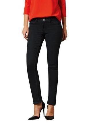 Джинсы брюки стрейчевые чёрные р. евро 42 xl esmara германия skinny fit