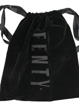 Велюровая сумка для обуви puma fenty