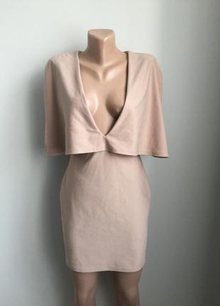 Платье-кейп стильное