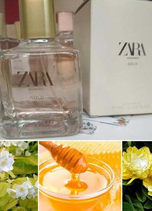 Жіноча парфумована водичка zara woman gold 100 ml
