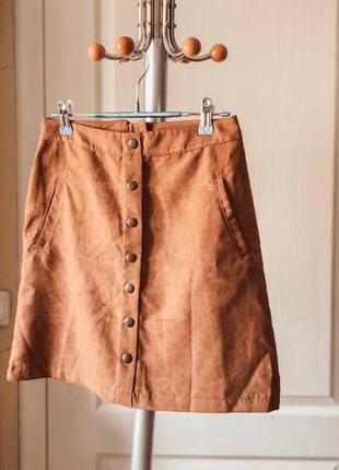 Замшевшая юбка-кантри от lc waikiki casual