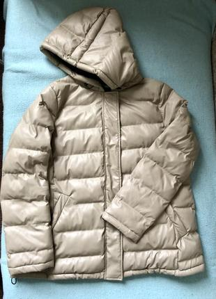 Zara куртка эко кожа, под кожу