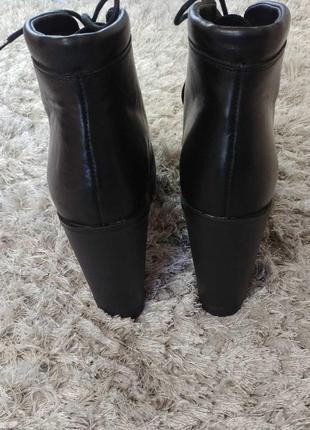 Шикарні черевички boots від andre нат.шкіра р.39.6 фото
