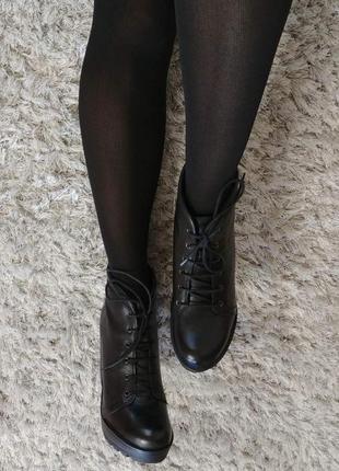 Шикарні черевички boots від andre нат.шкіра р.39.9 фото